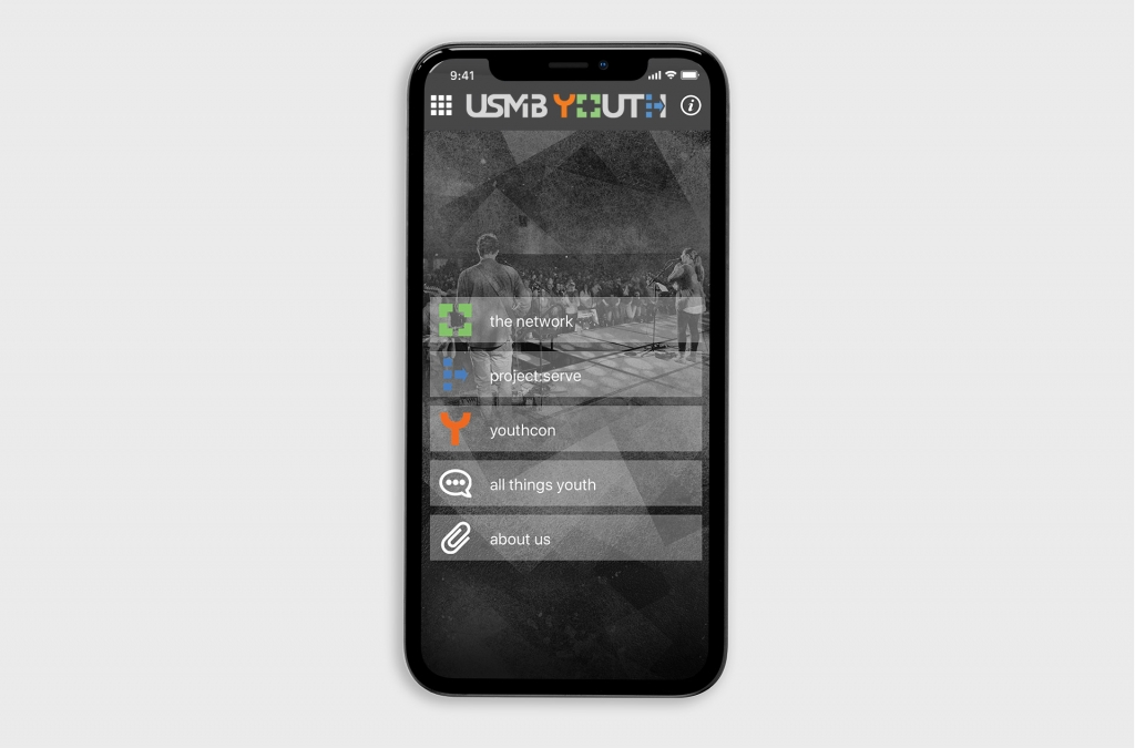 USMB Youth Custom App Design
