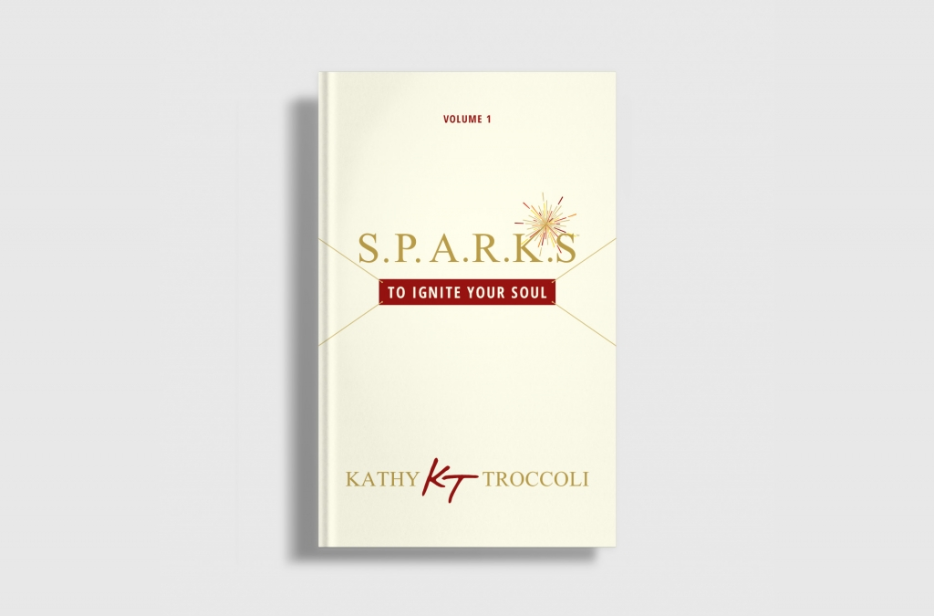 SPARKS by Kathy Troccoli Book Cover Design