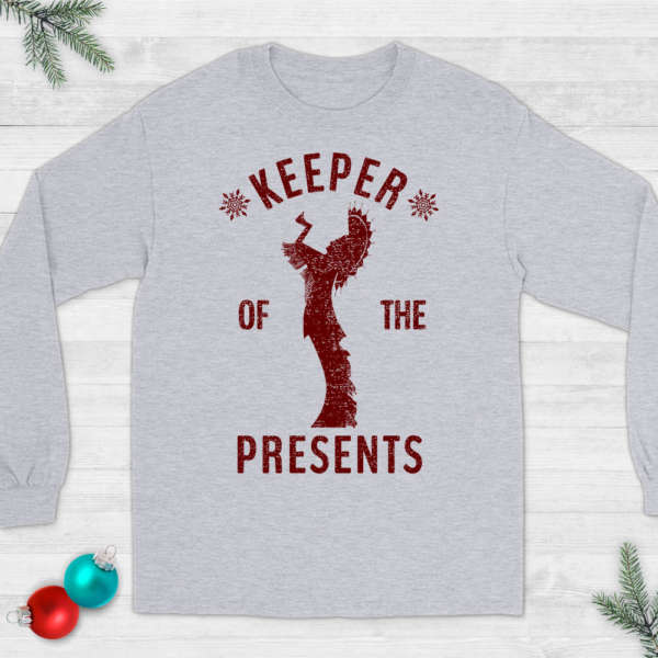 Keeper of the Plains Wichita Christmas T-Shirt