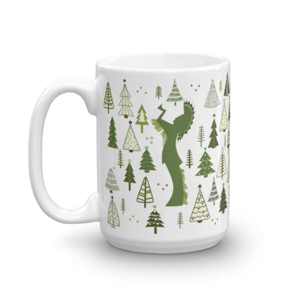 Keeper of the Plains Wichita Christmas Holiday Mug