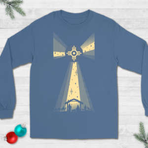 Nativity Wichita Flag Christmas T-shirt