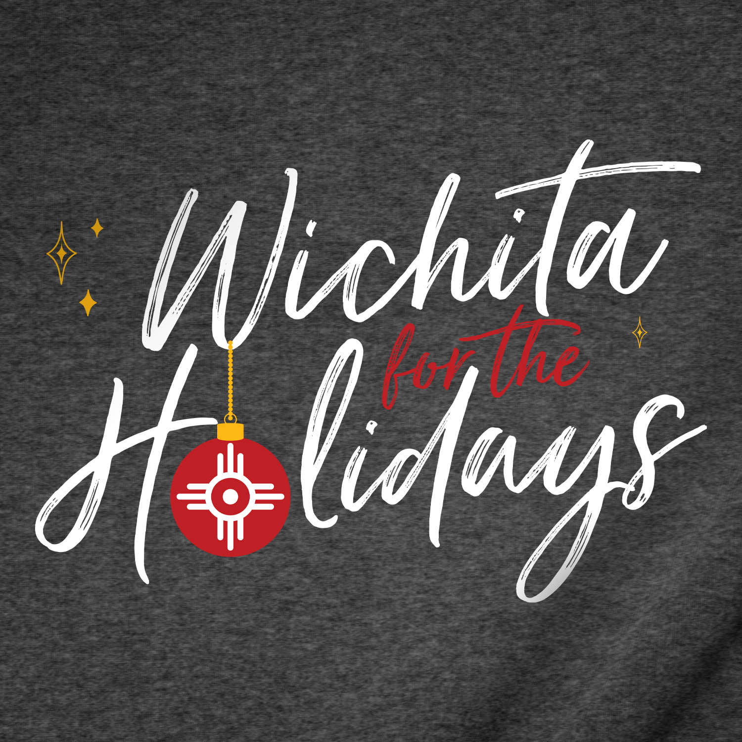 Wichita for the Holidays Christmas T-Shirt