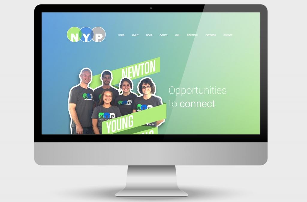 Newton Young Professionals Website Design