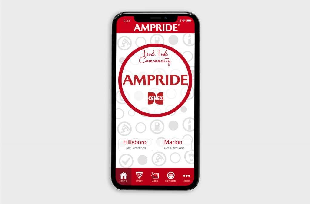 Ampride App Design