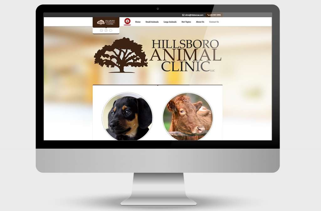 Hillsboro Animal Clinic Website Design