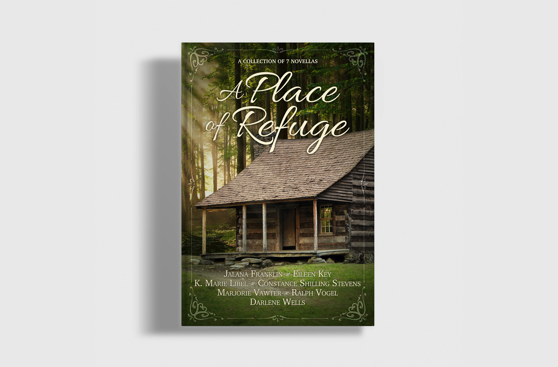 A Place of Refuge Book Cover Design