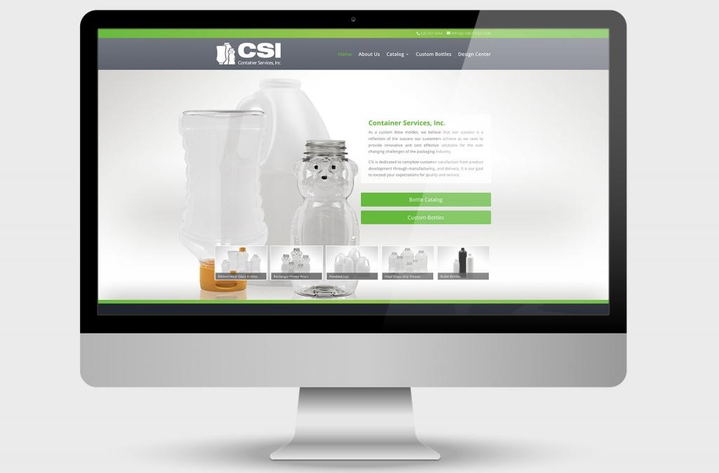 Container Services Inc. Custom Website Design