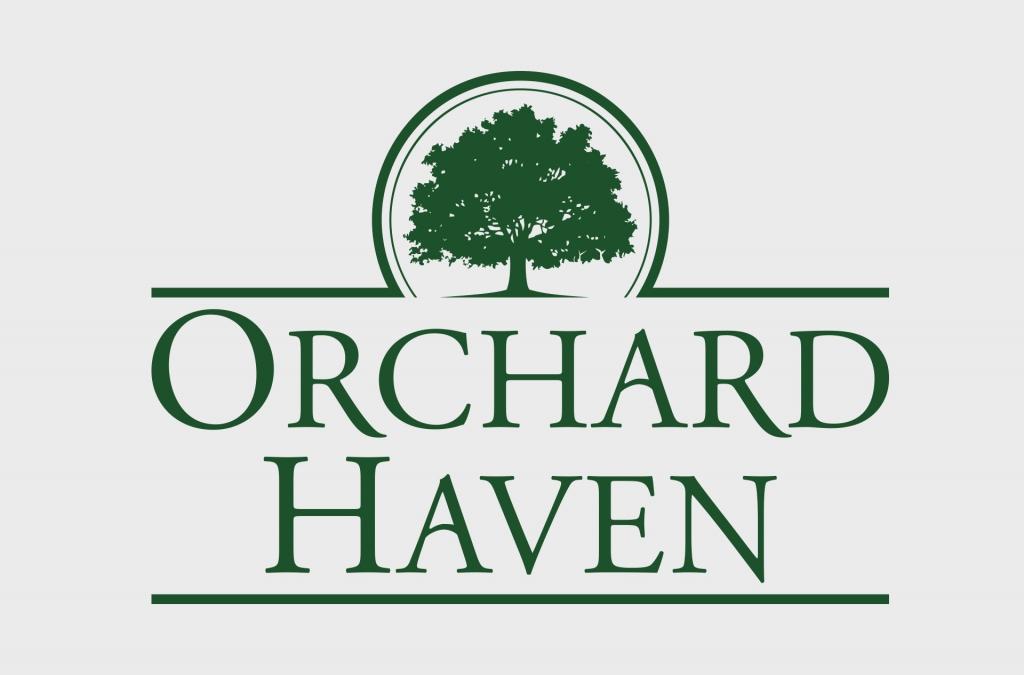 Orchard Haven Neighborhood Custom Logo Design