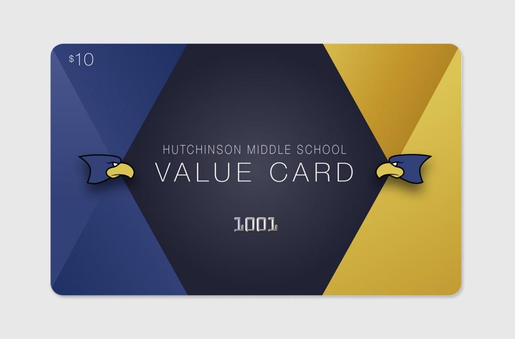 USD 308 2017 Value Card Fundraiser Custom Graphic Design