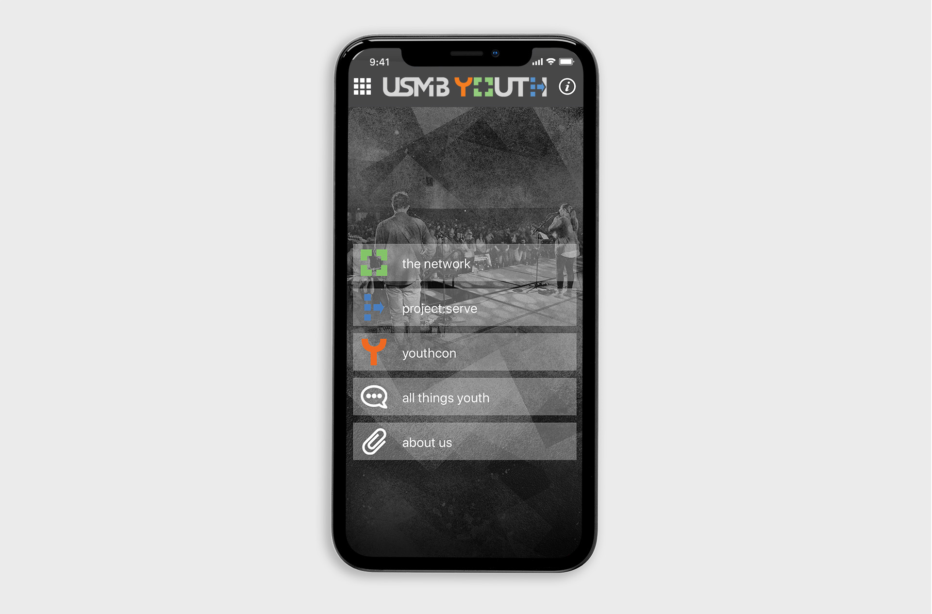 USMB Youth Custom App Design