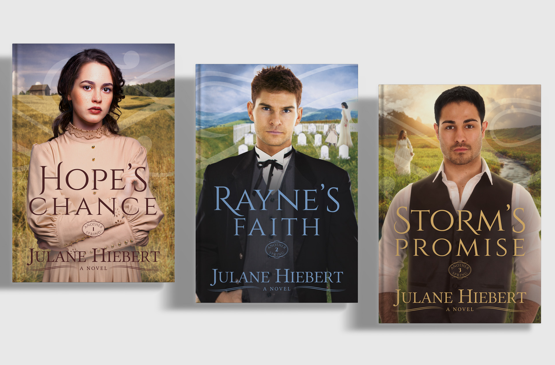 Wings of Hope Publishing Another Spring Series Cover Design and Typesetting