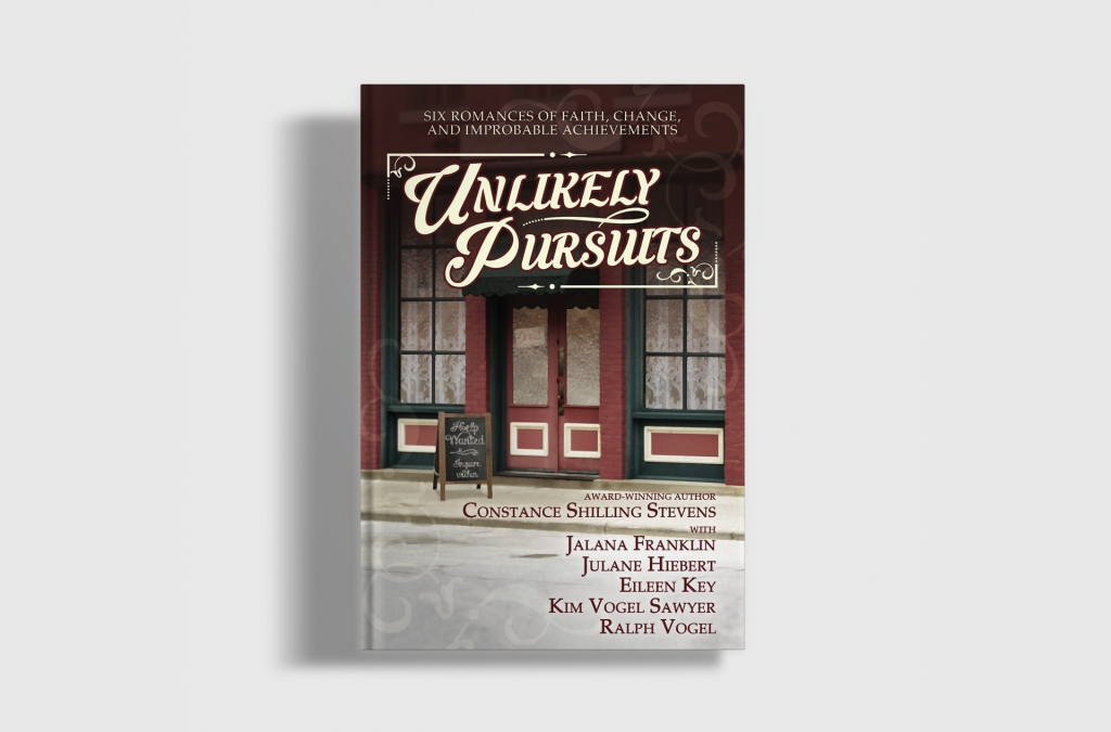 Unlikely Pursuits Book Cover Design